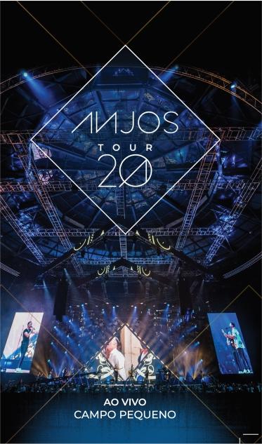 Anjos - Ao vivo no Campo Pequeno (Ed. Livro + 2CD)