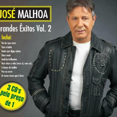 José Malhoa - Grandes Êxitos Vol. 2 (Pack 3 cd's)