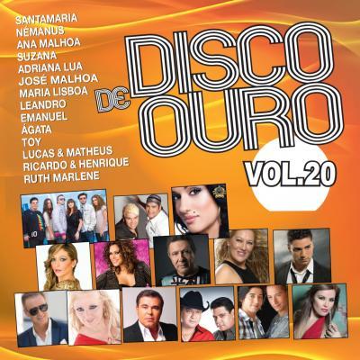 Vários artistas - Disco de ouro Vol. 20