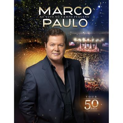 Marco Paulo - Ao vivo no Campo Pequeno - PRÉ VENDA (C/ Oferta cachecol)